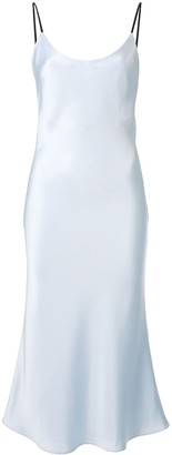 CHRISTOPHER ESBER spaghetti strap fitted dress