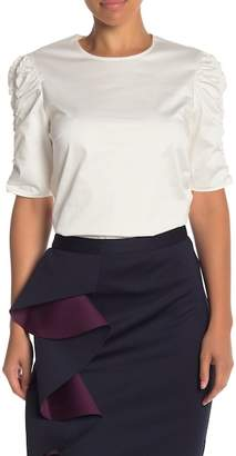Ted Baker Ruched Mid Sleeve Blouse
