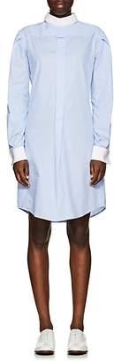 R 13 Women's Plaid Cotton Backward-Style Shirtdress