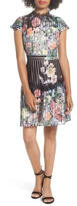 Foxiedox Flora Fit & Flare Dress