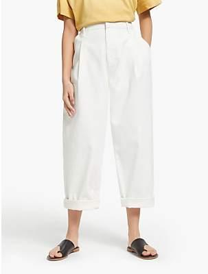 KIN Balloon Trousers, White