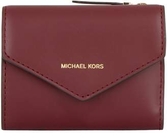 MICHAEL Michael Kors Small Leather Jet Set Envelope Wallet