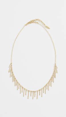 Luv Aj Chain Fringe Necklace
