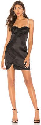 by the way. Emma Lace & Satin Mini Dress