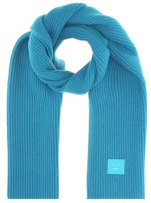 Acne Studios Bansy N Face wool scarf