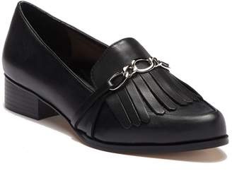 f1f50bf3d97 Black Leather Flats Tahari - ShopStyle