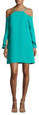 Laundry by Shelli Segal Cold-Shoulder Dress $225 thestylecure.com