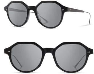 Shwood Powell 50mm Polarized Geometric Sunglasses