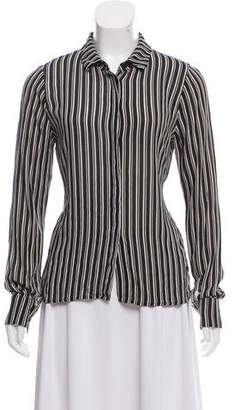 Reformation Striped Button-Up