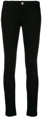 Dolce & Gabbana Queen patch skinny jeans