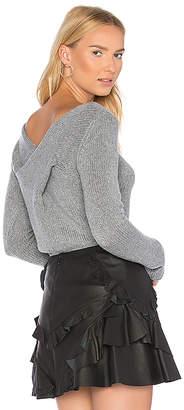 Derek Lam 10 Crosby Twist Back Sweater
