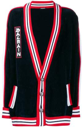 Balmain buttoned knit cardigan