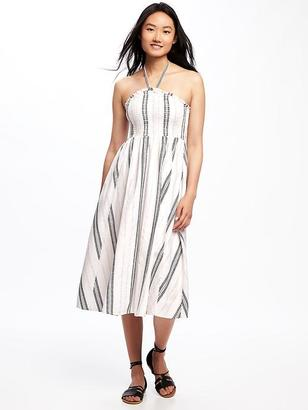 Fit & Flare Halter Dress for Women $44.94 thestylecure.com