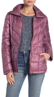 Kenneth Cole New York Quilted Down Jacket