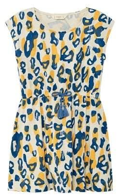 MANGO Animal print dress