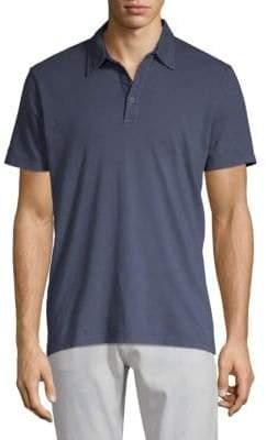 AG Jeans Short-Sleeve Cotton Polo