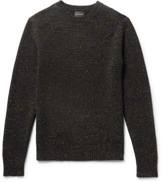 Club Monaco Jaxon Slim-Fit Donegal Wool-Blend Sweater
