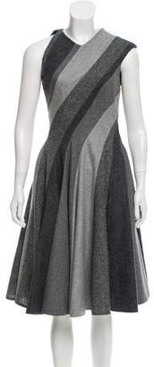 Thom Browne Wool A-Line Dress