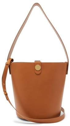 Sophie Hulme Swing Leather Bucket Bag - Womens - Tan