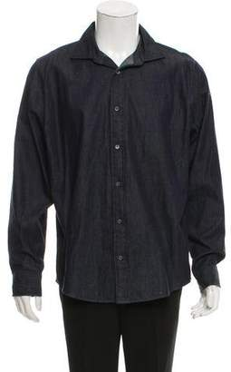 Jack Spade Denim Button-Up Shirt