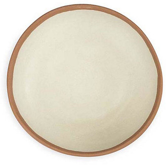 Q Squared Set of 4 Potter Melamine Cereal Bowls - Beige/Terracotta