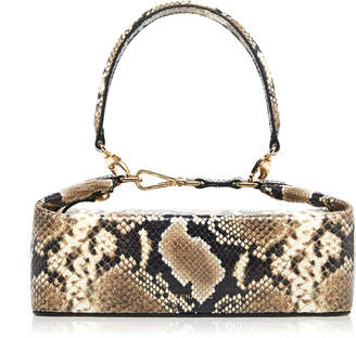 REJINA PYO Olivia Snake-Effect Leather Bag