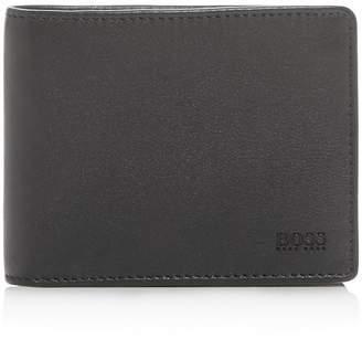 HUGO BOSS Majestic Leather Bi-Fold Wallet