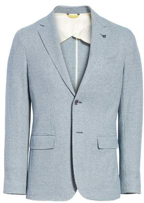 Canali Slim Fit Cotton Blazer