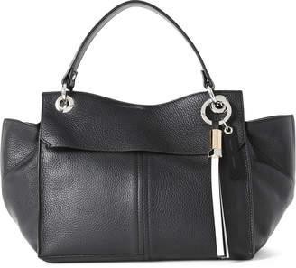 Proenza Schouler Black Curl Tassel Leather Satchel