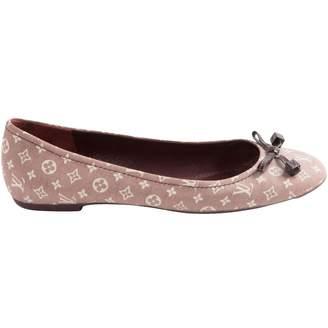 Louis Vuitton Cloth ballet flats