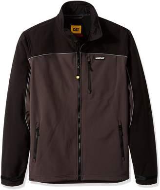 Caterpillar Men's Softshell Jacket, Graphite