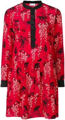 RED Valentino printed flared dress