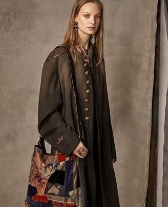 Ralph Lauren Georgeann Wool-Blend Coat