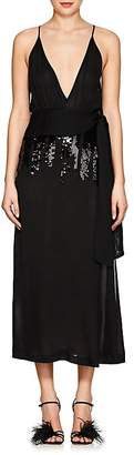 Victoria Beckham Women's Sequined Silk Chiffon Midi-Dress