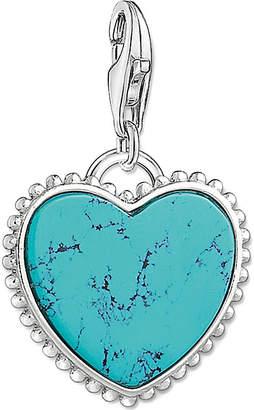 Thomas Sabo Charm club heart silver charm pendant