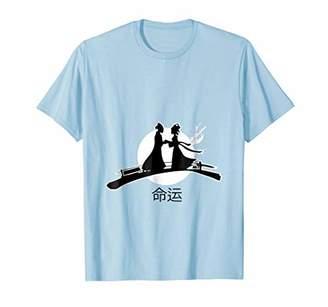DESTINY FATE (yuanfen) Chinese Characters MEN WOMEN T-SHIRT