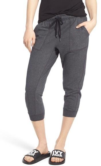 IVY PARK Slim Leg Capri Jogger Pants