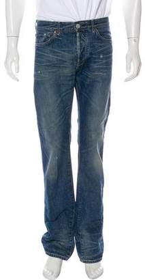Levi's Sparky Distressed Straight-Leg Jeans w/ Tags