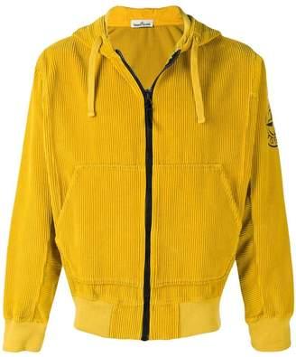 Stone Island corduroy bomber jacket