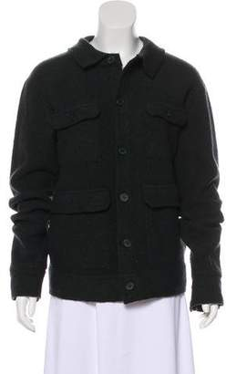 Opening Ceremony Wool Button-Up Jacket