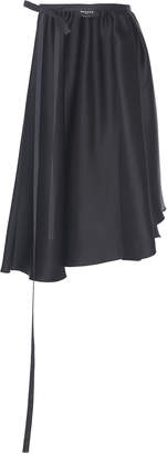 Rochas Opersil Silk Apron Skirt Size: 44