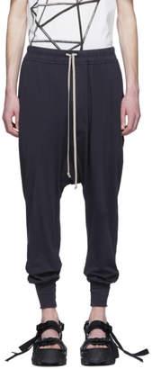 Rick Owens Indigo Prisoner Drawstring Lounge Pants