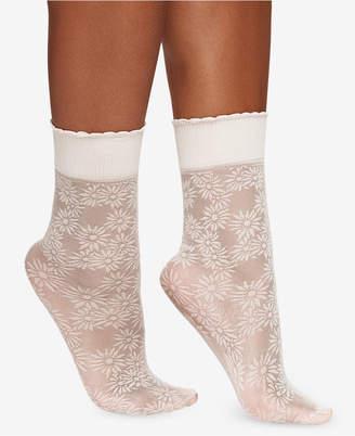 Berkshire Women Daisy Floral Anklet Socks 5119