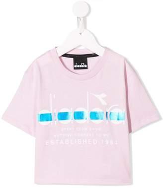 Diadora Junior logo print T-shirt