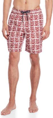 Trunks Surfside Supply Batik Print Volley Swim