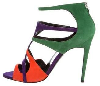 Pierre Hardy Ankle Strap Cutout Sandals