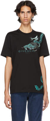 Givenchy Black Dragon Capricorn T-Shirt