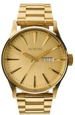 Nixon Sentry Stainless Steel Watch