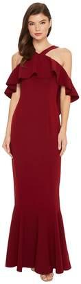 Rachel Zoe Stretch Crepe Baxter Maxi Dress Women's Dress