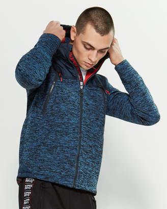 Superdry Zip-Up Hooded Jacket